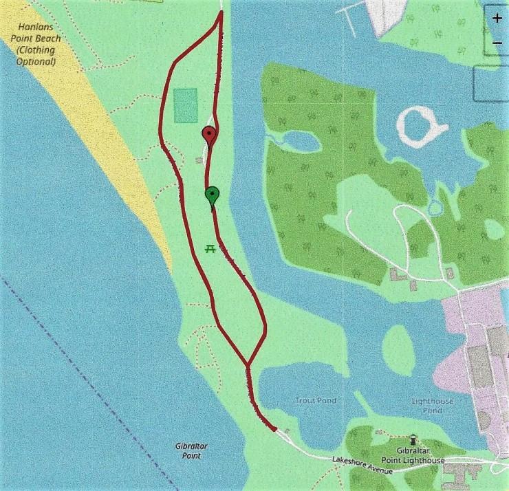 Carte - Marche du 10km